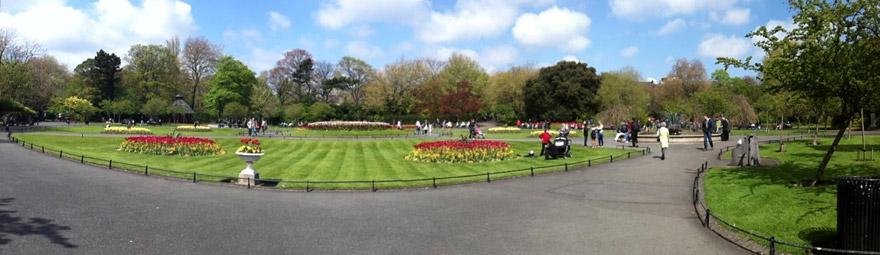 St-Stephens-Dublin-Victorian-garden-pano-NE